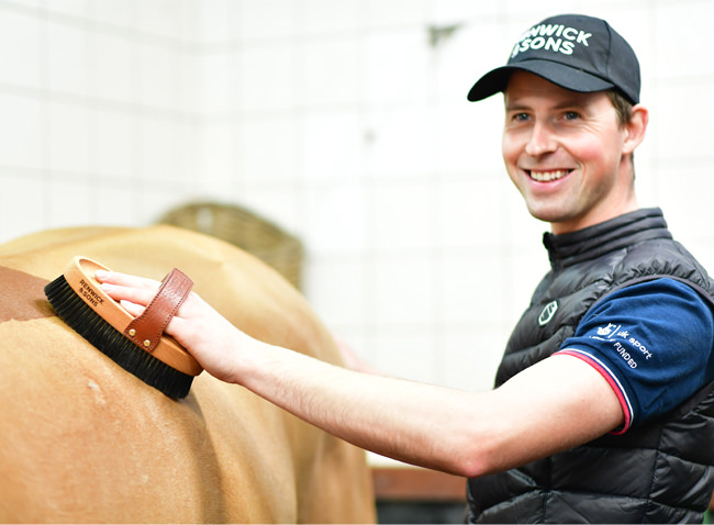 Want to know what the day in the life of a top International groom is like?